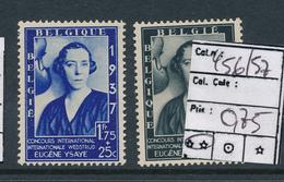 BELGIUM COB 456/457 MNH - Neufs