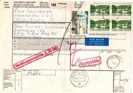 Siilinjarvi 1974 - Bulletin D'expédition - Osoitekortti - Finland