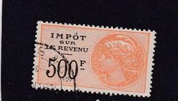 T.F. Impôt Sur Les Revenus N°114 - Revenue Stamps
