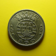 Portuguese Timor 60 Centavos 1958 - Portugal