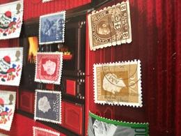 CANADA UOMINI ILLUSTRI MARRONE - Stamps