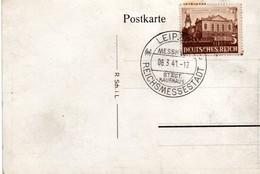 Leipzig 1941 - Reichsmessestadt - Messhaus - Covers & Documents