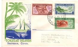 Tokelau 1948 - Souvenir Cover - Lettre Brief - Tokelau