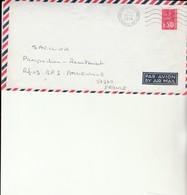L 1 - Enveloppe Avec Cachet Porte Hélicoptères Jeanne D'Arc - Marcofilie (Brieven)