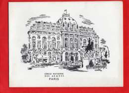 * * Cercle National Des Armées - Paris * * 1971 - Menükarten
