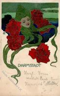 Kunstgeschichte DARMSTADT - Sign. CHRISTIANSEN 1901 I-II - Christiansen