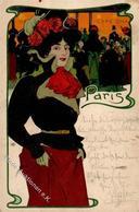 Kunstgeschichte Darmstadt Christiansen, Hans Frau Paris 1900 I-II - Christiansen