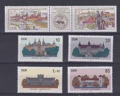 DDR Kleine Verzameling 1986 Nr 2651/56 **, Zeer Mooi Lot Krt 4204 - Stamps