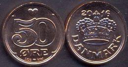 Denmark 50 Ore 2016 UNC ( LGS + HW ) - Denmark