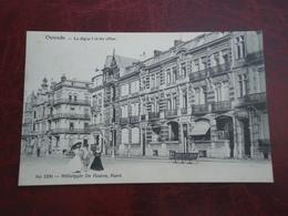 Ostende - Oostende   La Digue 1 Et Les Villas        ( 2 Scans ) - Oostende