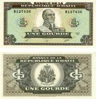 Haiti. Banknote. 1 Gourde. UNC. 1989 - Haïti