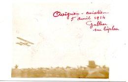 84 AVIGNON CARTE PHOTO AVIATION MEETING VAUCLUSE GALTIER AVIATEUR ROQUEMAURE SAINT VICTOR LA COSTE - Avignon
