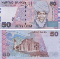 Kyrgyzstan. Banknote. 50 Som. K. Datka. UNC. 2002 - Kyrgyzstan