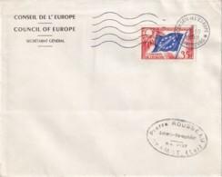 FRANCE - 8, 20 Et 35 F. De 1958 - Les 3 Valeurs Sur Lettre - 3 Scans - Lettres & Documents