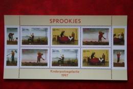 Blok Kinderzegels Kind Child Welfare Enfant NVPH 1739 (Mi Block 54); 1997 POSTFRIS / MNH ** NEDERLAND / NIEDERLANDE - Period 1980-... (Beatrix)