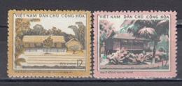 Vietnam Nord 1972 - Residence Of President Ho Chi MInh, Mi-Nr. 695/96, MNH** - Vietnam