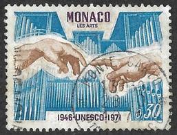 MONACO   1971  -  YT 855  - Unesco   -  Oblitéré - Monaco