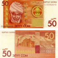 Kyrgyzstan. Banknote. 50 Som. UNC. 2009 - Kyrgyzstan
