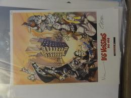 Coyote  Ex-libris Signé - Illustrateurs A - C