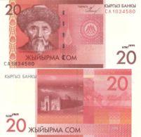 Kyrgyzstan. Banknote. 20 Soms. UNC. 2009 - Kyrgyzstan