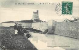 SAINT VAAST LA HOUGUE - Le Fort De La Hougue. - Saint Vaast La Hougue