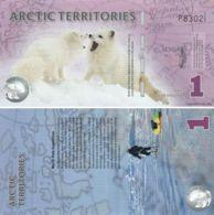 Arctic. Banknote. 1 Polar Dollar. 2012. UNC. Arctic Fox - Andere