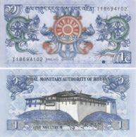 Bhutan. Banknote. 1 Ngultrum. 2013. UNC - Bhutan
