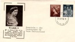 Niue 1953 - FDC Queen Elizabeth QE II - Niue