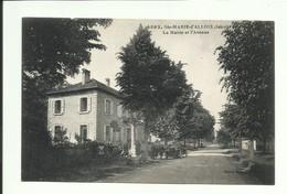 Isére, Cpa Ste-marie-d'Alloix Mairie, Voir Scann  Tous Frais 1,20 En + - Autres Communes
