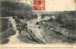 Sommet Du Puy De Dome , Montagne  Tramway Petit Train , * LC 379 03 - France