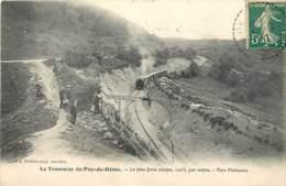 Sommet Du Puy De Dome , Montagne  Tramway Petit Train , * LC 379 06 - France