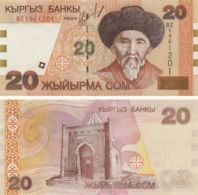 Kyrgyzstan. Banknote20 SomUNC. 2002. P19 - Kyrgyzstan