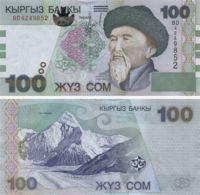 Kyrgyzstan. Banknote100 SomUNC. 2002. P21 - Kyrgyzstan