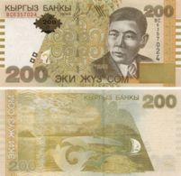 Kyrgyzstan. Banknote200 Som2004. UNC. P22 - Kyrgyzstan