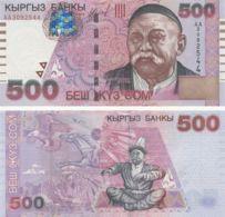 Kyrgyzstan. Banknote500 Som2000. UNC. P17 - Kyrgyzstan