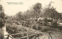 "BOISSY L'AILLERIE - Hôtel Restaurant ""l'Oasis"". - Boissy-l'Aillerie"