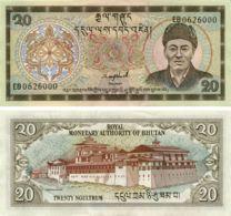 Bhutan. Banknote20 Ngultrum. 2000. UNC. P23 - Bhutan