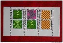 Blok CHILDREN KINDEREN ENFANTS NVPH 1042 (Mi Block 12); 1973 POSTFRIS / MNH ** NEDERLAND / NIEDERLANDE - Period 1949-1980 (Juliana)