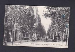 Neuilly Sur Seine (92) Rue De Chezy (animée S. M. Photo Testard Ref 39261 ) - Neuilly Sur Seine