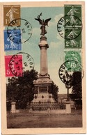Dunkerque 1935 - Monument De La Victoire N°13 Avec 6 Timbres - Dunkerque