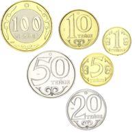 Kazakhstan Set Of 6 Coins 2019 UNC - Kazakhstan