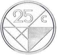 Aruba 25 Cents 2019 UNC - [ 4] Colonies