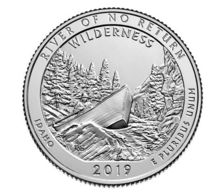 United States 25 Cents (quarter) 2019 P UNC 50th Park - Non-reversing River - 2010-...: National Parks