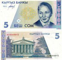Kyrgyzstan 5 Soms 1994 UNC (P8) - Kyrgyzstan