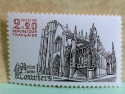 France (Notre Dame De Louviers) 1981 Neuf (Y&T N°2162) - Coté 1€ - Frankrijk
