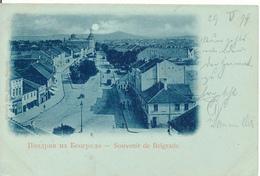 BELGRAD / Serbien  - 1899 - Serbia