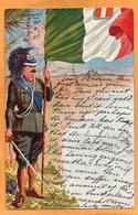 Italy Military & Patriotic 1917 Postcard - Andere