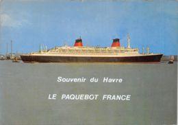 76-LE HAVRE-PAQUEBOT France-N°T573-C/0379 - Le Havre