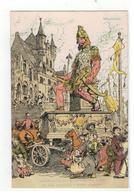Mechelen  Gedenkenis Van Den Belfortstrijd Door A.Ost   De Reus (Grootvader) 't Belfort Groetende - Mechelen