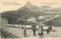 Sommet Du Puy De Dome , Montagne  (tramway Petit Train) , * LC 380 35 - France